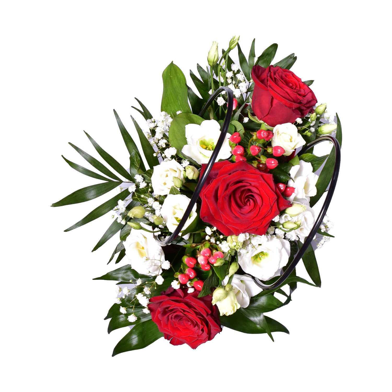 Geanta cadou cu flori