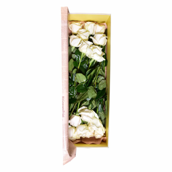 Cutie simpla cu trandafiri