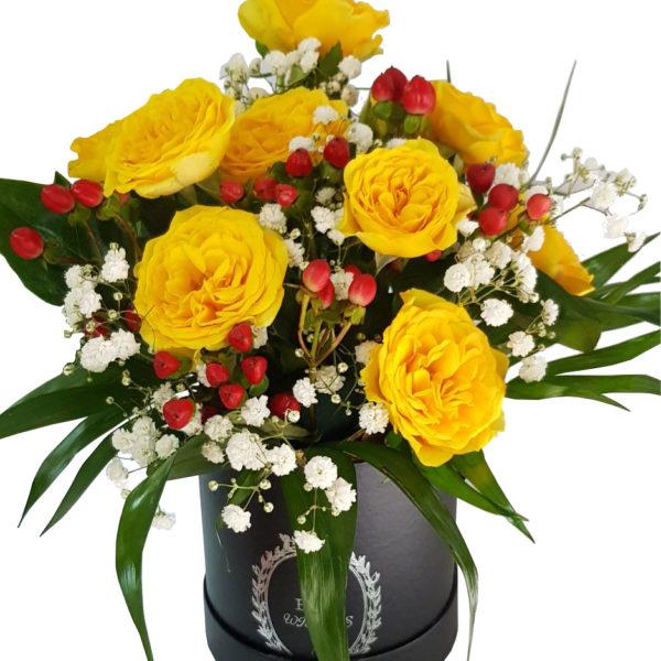 aranjament floral pentru masa