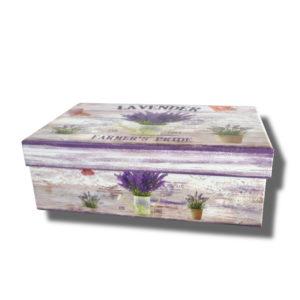 Cutie model lavanda pentru aranjamente florale
