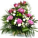 aranjament-floral-cutie-trandafir-mov1